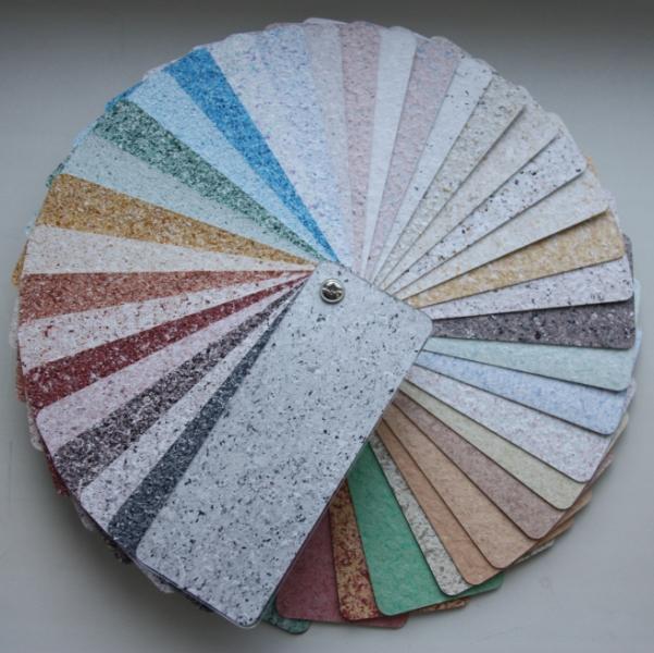 Мозаичная краска Тримколор- недорогая и готовая к применению.